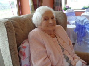 Nellie Casey who celebrated her 90th birthday recently.