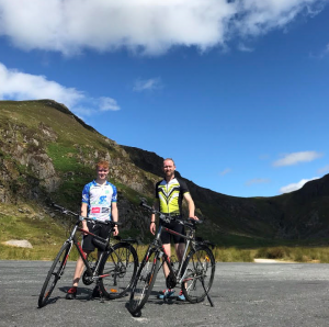 Jordan and Arthur pictured after some training up and down the Comeragh Mountains.