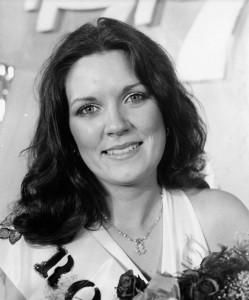 Rose of Tralee 1977 Winner Orla Burke.