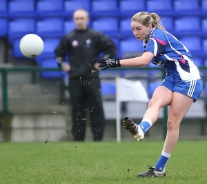 Maria Delahunty in action for Waterford