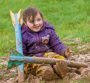 Ava Hogan (4) pictured at the Park Life event held at the Ferrybank Playground site in March 2017. | Photo: Dylan Vaughan