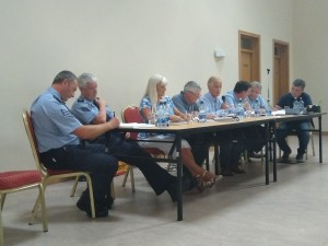 A number of stakeholders including GAA officials, local residents and members of An Garda Síochána addressed the recent public meeting to discuss the future of Walsh Park.