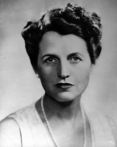 Rose Fitzgerald Kennedy (Born in Boston July 22nd, 1890; Died at Hyannis Port, January 22nd, 1995).   Photo: John F Kennedy Presidential Library