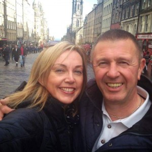 A recent photograph of former Waterford FC footballer, Brian Gardner, and his wife, Lyndsay. Brian, who signed to Waterford from Preston North End, scored the magic winning goal in the 1980 Cup Final against St Patrick's Athletic that propelled the Blues into the European Cup Winners' Cup.