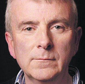 Waterford playwright Jim Nolan, who was a founder member of the Red Kettle Theatre company in 1985.