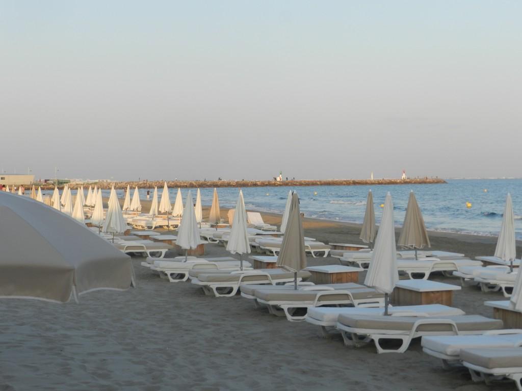 Palavas Beach, near Montpellier.
