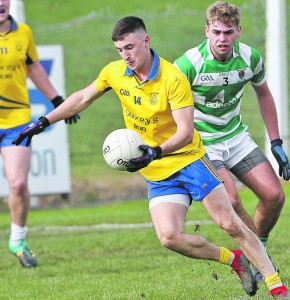 The Nire's Conor Gleeson gearing up for next Sunday evening's County Senior Football Final at Fraher Field. | Photos: Sean Byrne