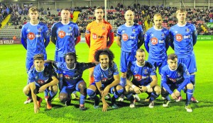 The Waterford FC Team that defeated Bohemians at Dalymount Park