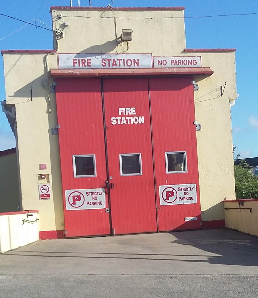 Kilmacthomas Fire Station.