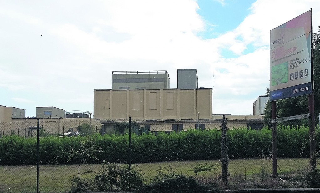 Idle: The former cheese factory plant at Kilmeaden.