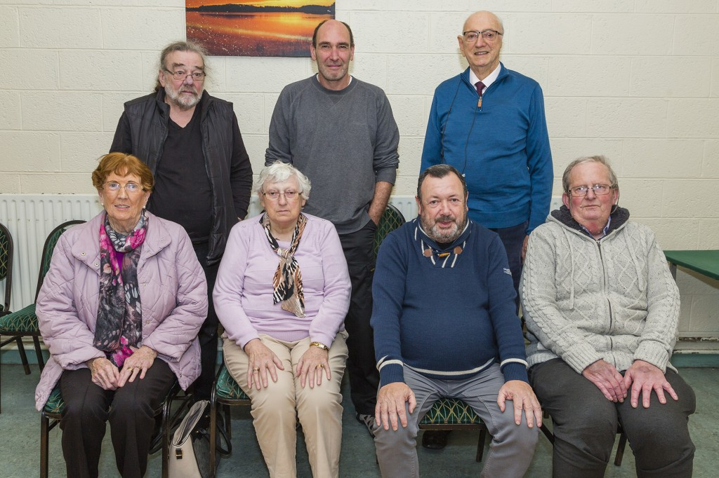 Members pictured at a recent meeting of the Waterford COPD Support Group. Back row L-R: Pat Walsh, Davy Collins, Bill Murphy. Front row L-R:  Mary Burke, Ann Fleming, Michael Drohan and Tony Power. Photos: Mick Wall.