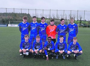 The Waterford Youth Inter League team that defeated the Cork League in Moneygourney on Saturday last.