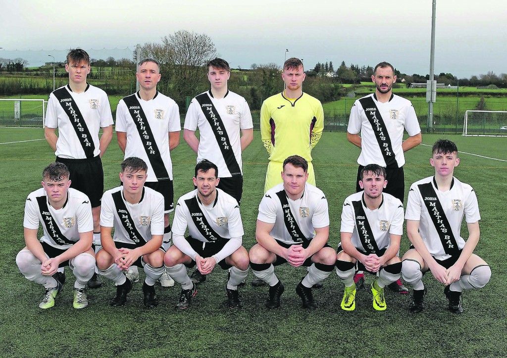 Tramore who defeated Athenry in the FAI Junior Cup in Carriganore