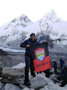Tommy Colfer hiked to Everest Basecamp this year and raised €4,000 for the 35th Waterford Copper Coast Scout Group.