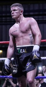 Dylan Moran's momentum was maintained in Castlebar's Royal Theatre on Friday last when he defeated Nicaraguan Nelson Altamirano on points.  Shot from TG4.
