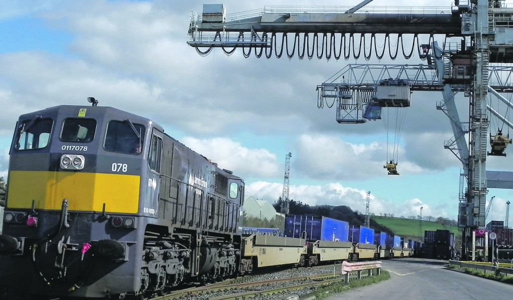 The freight train service which operated between Belview Port and Ballina (Co Mayo) ceased operating on May 29th last.