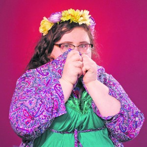 Central Arts bound Alison Spittle.