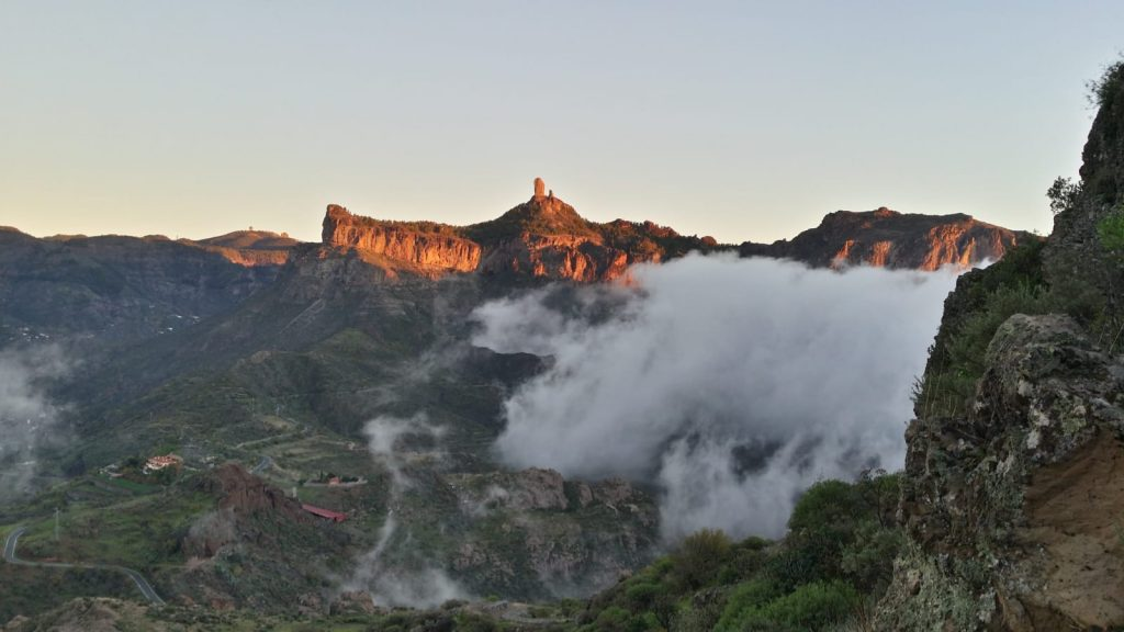 There are many different hiking routes throughout Gran Canaria including the Roque Bentayga Archaeological Trail.
