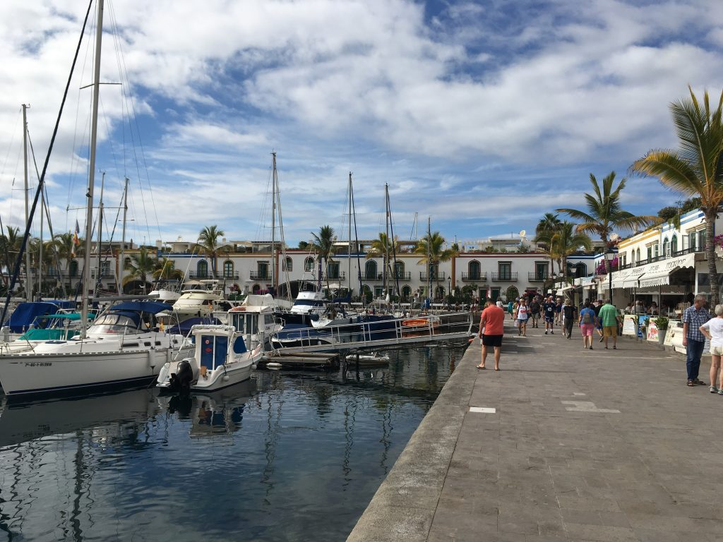 Picturesque Puerto de Mogan.