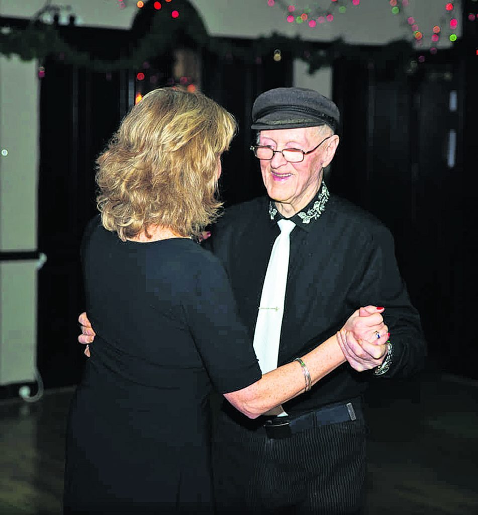 """""""You're more connected to your partner than with any other type of dance,"""" says 99 year old Jim about tango."""