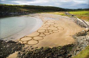 'Beach Bubbles' on Kilmurrin Cove.