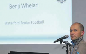 Waterford's manager Benji Whelan tried out a number of players ahead of the league campaign which begins in three weeks time
