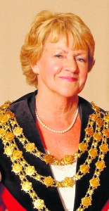 Mary O'Halloran who made history when in 2007, she became the first woman to hold the office of Mayor of Waterford.