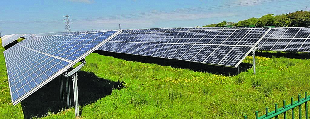 The giant solar farm is planned for Rathnaskillogue near Stradbally and Bonmahon, which has been criticised by community activist and local election candidate Ann Troy.