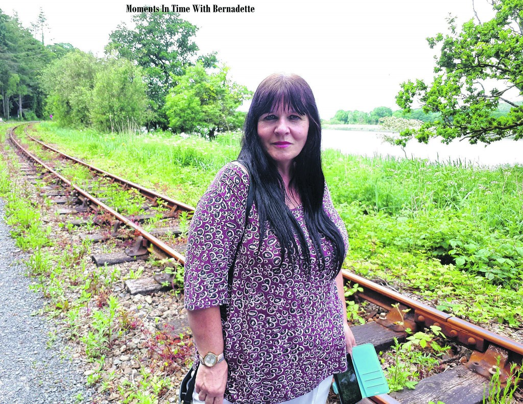 Bernadette pictured on the Waterford Greenway.