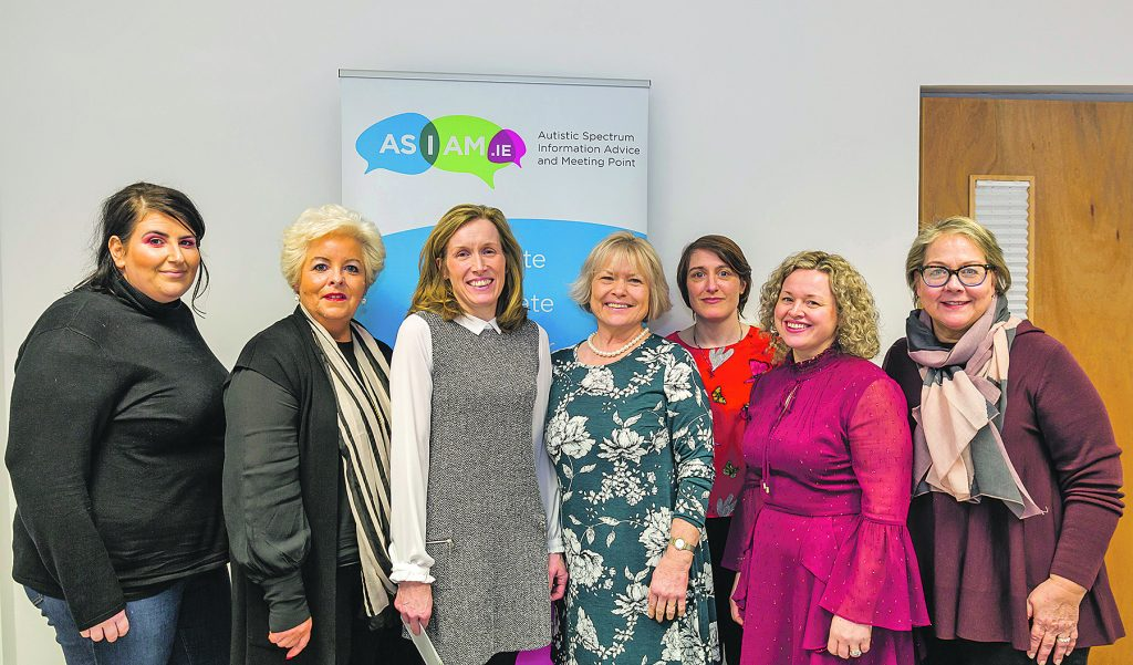 Pictured are National Learning Network Staff Members Majella O'Grady, Kitty Galvin Hennessy, Maria Griffin, Ailish O'Brien, Claire Harper, Amanda Fox and Margaret Walsh.