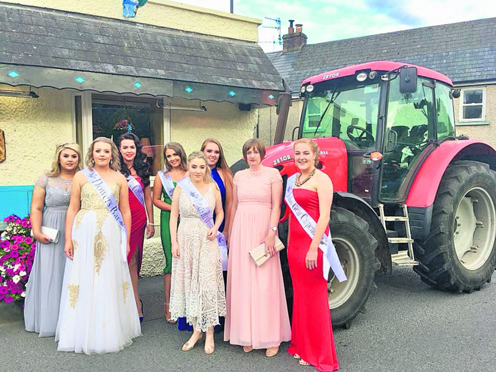 Participants in the 2018 Barony of Gaultier Rose Festival pictured outside The Spinnaker, Dunmore East