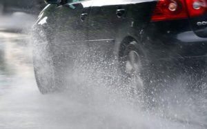 We've all seen examples of irresponsible, even downright idiotic driving during wet spells.
