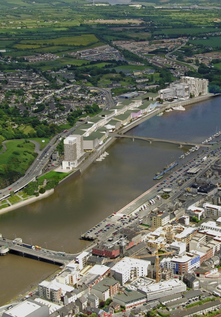 The re-assertion of Falcon's commitment to the North Quay and Michael Street developments was widely welcomed last week