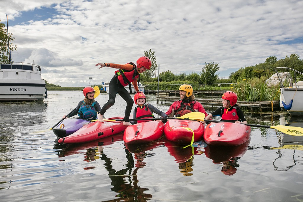 The Lough Derg Blueway has become a popular activity visitor and tourist attraction in recent years.  | Photo: Discover