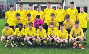 The Tramore team that reached the semi-final of the Munster Youths Cup