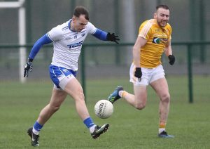 Waterford's Dessie Hutchinson solos up field at the WIT Arena.