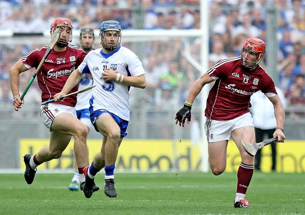 We'll have to wait a little longer to see the hurlers of Waterford and Galway exchange pleasantries.