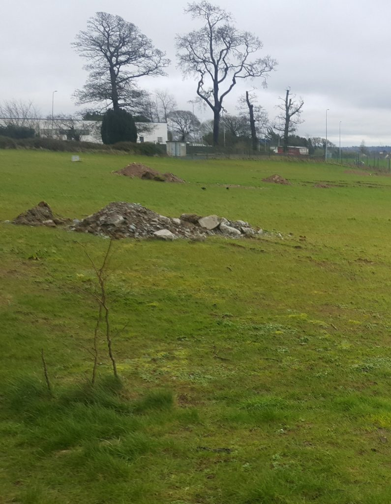 Civil works on the playground site are due to be completed by August, according to Kilkenny County Council.