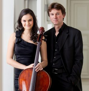 Cellist Raphaela Gromes and pianist Julian Riem will perform at the Large Room on Wednesday evening.