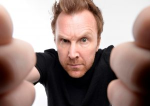 Jason Byrne will perform at the Theatre Royal on Thursday, April 18th.