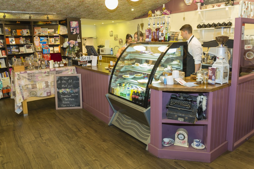 Veronica's Café in The Book Centre is located in one of the city centre's most appealing locations. | Photos: Mick Wall