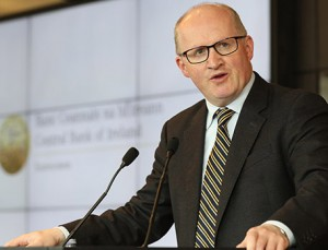 Wary: Central Bank Governor Philip Lane.