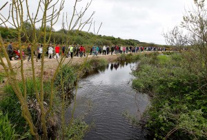 The Anne Valley Walk has proven a huge success. Photo: Noel Browne.