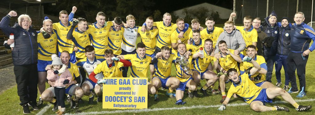 The Nire begin the defence of their Senior Football crown against Ardmore this Saturday.  | Photo: Sean Byrne
