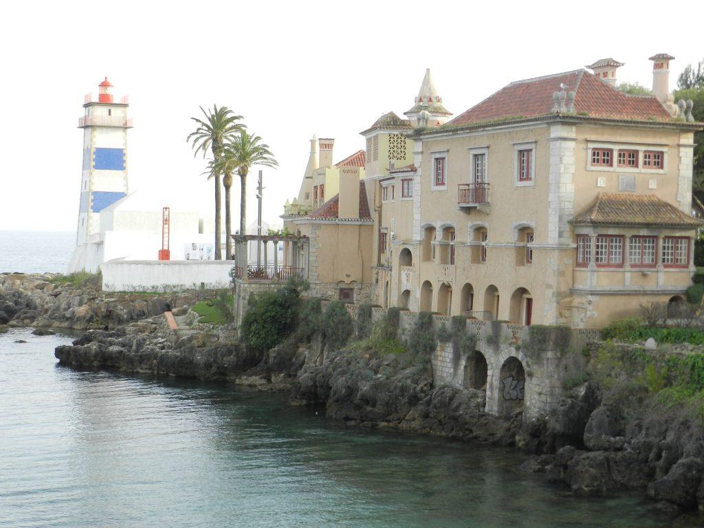 The Cascais Lighthouse and O'Neill House.