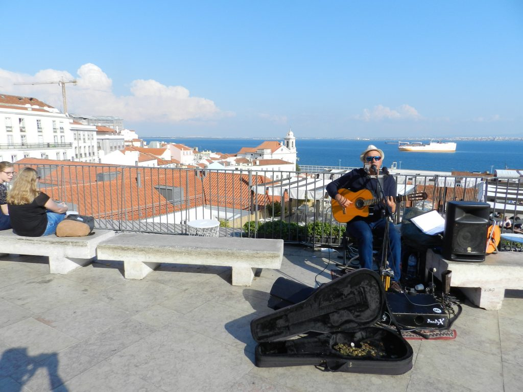The views from Alfama (Lisbon) are always wonderful.