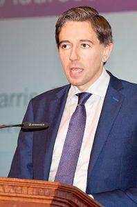 Minister for Health Simon Harris.