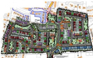 The 324 house/apartment proposal for a site off the Williamstown Road has been refused by An Bord Pleanála