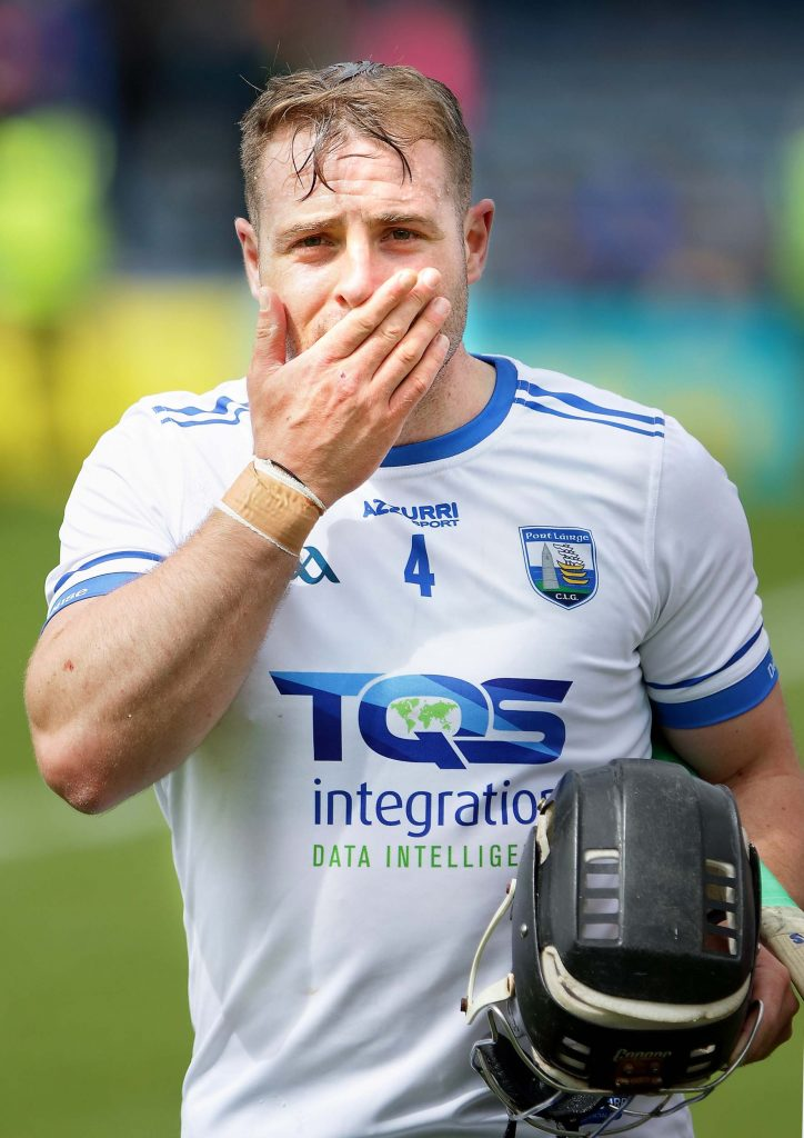 Noel Connors capturing the mood of every Déise hurling fan following last Sunday's Munster SHC defeat to Tipperary at Semple Stadium. See Sport 2-7 for more. | Photo: Noel Browne