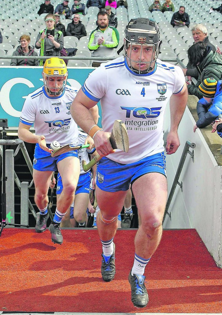 Noel Connors, who is about to enter his 11th Championship campaign as a senior hurler.    Photo: Noel Browne